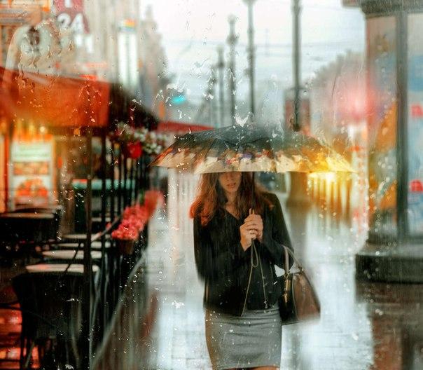 Дождливый Петербург фотохудожника Эдуарда Гордеева