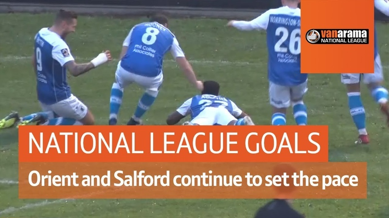 Leyton Orient and Salford continue to set the pace National League Highlights