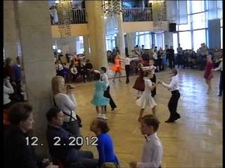 Бальные танцы. Рейтинг МФТС в Орионе 12.02.2012