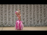 Восточный танец  - Ангелина Галушкина - 6 лет - Украина