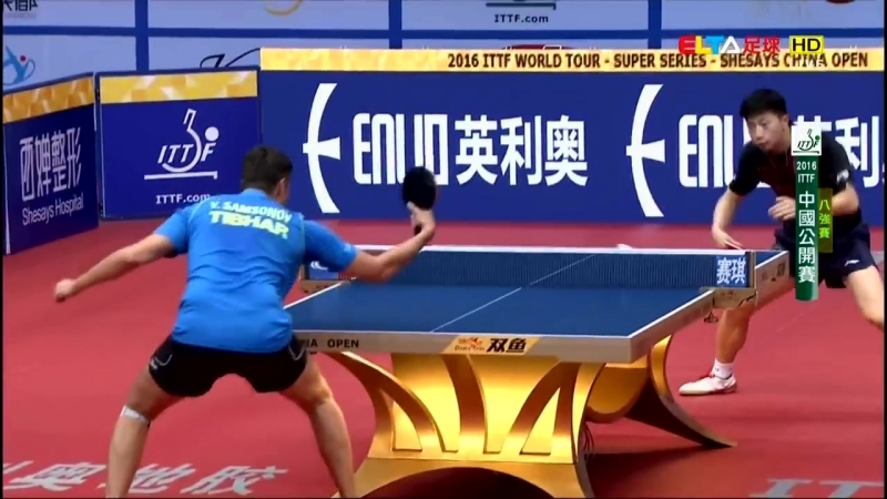 2016 China Open (MS-QF1) MA Long - SAMSONOV Vladimir [Full Match_Chinese _ HD108
