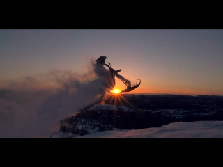Snowbike movie Sakhalin Passion