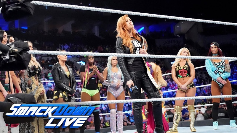 Video@kayroyce | Becky Lynch chooses her replacement to face Ronda Rousey: SmackDown LIVE, Nov. 13, 2018