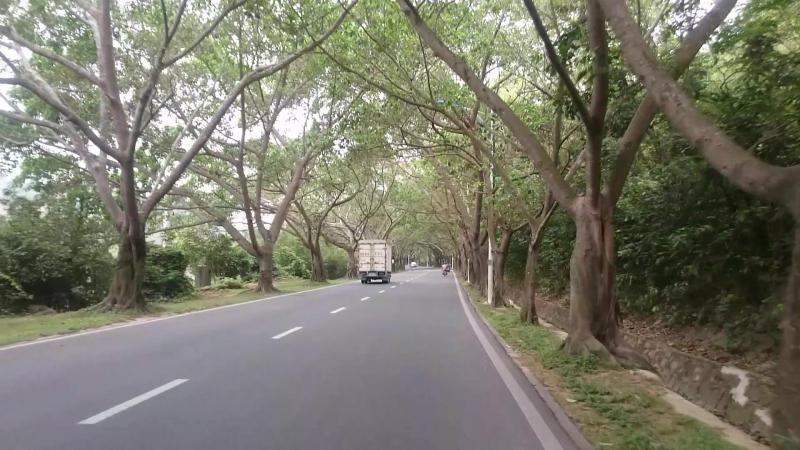 Sanya, road to Yalong Bay