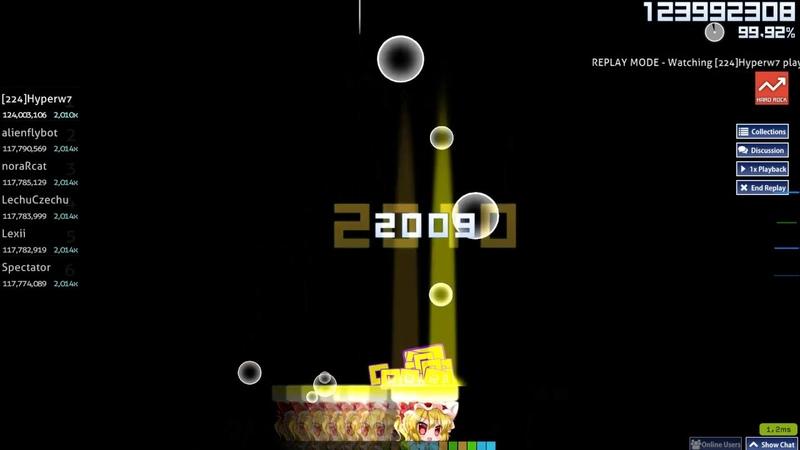 Osu!catch | [224]Hyperw7 | Camellia - ill intelligence [SYSTEM MALFUNCTION] HR 99.83% 1 FC 912pp