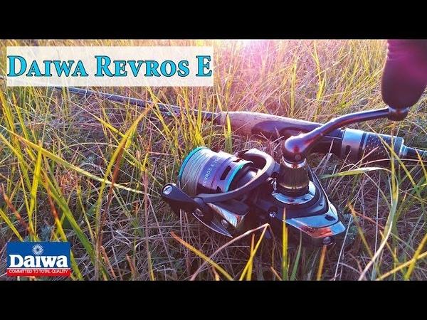 Daiwa Revros E 1500A бюджетная катушка для ультралайта/лайта