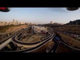 Aerial Video - Grand Canyon Haifa, Israel. (ONBoardVision)