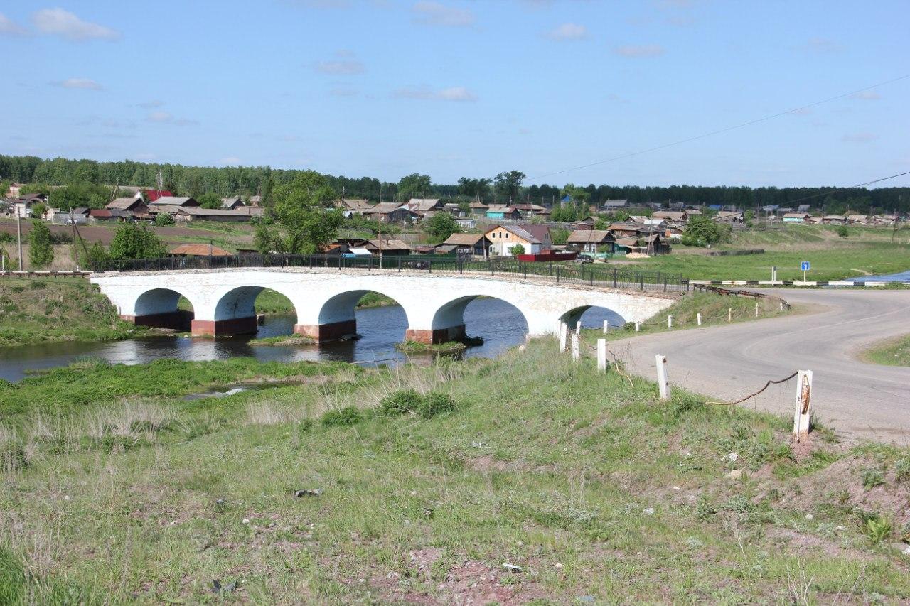 Вид на мост вблизи (04.07.2014)