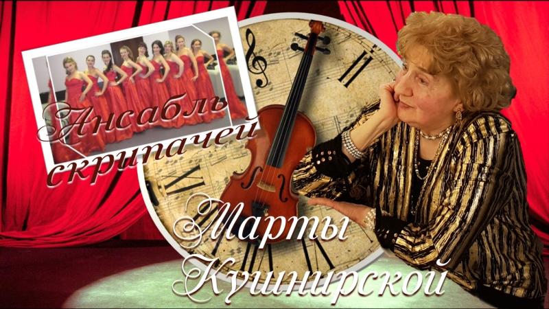 Ансамбль скрипачек. г. Москва