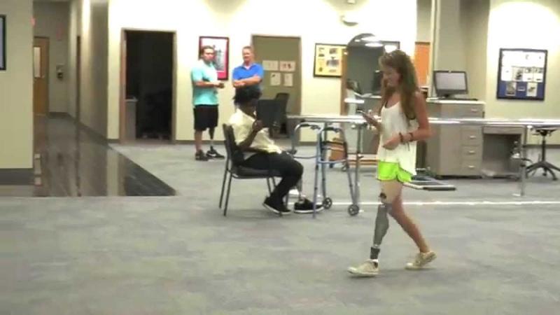 Dallas, AK: Loves Bouncy Feel of TaiLor Made Prosthetic Foot
