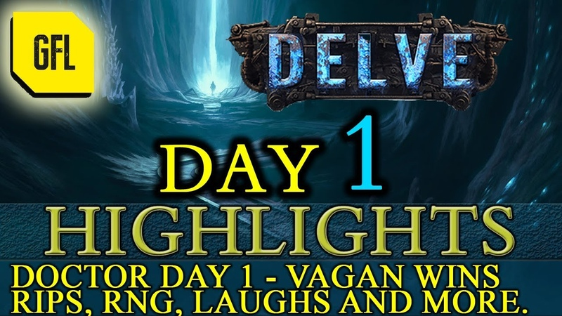 Path of Exile 3.4: Delve DAY 1 Highlights Doctor Day 1, Vagan Wins and more