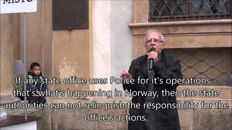Stanislav Křeček - Czech ombudsman deputy speaks against Barnevernet