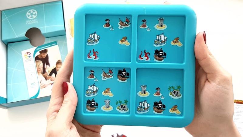 Обзор Игра - головоломка Bondibon Пираты. Роза ветров. 6 от магазина Модный Карапуз