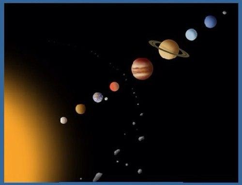 Планеты выстраиваются в ряд