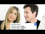 Jennifer Aniston &amp Jason Bateman Answer the Web's Most Searched Questions WIRED