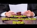 "EU-Abgeordneter: ""Kritik an Massenmigration wird zu einer Straftat!"""