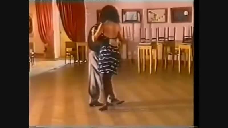 [Asi se baila milonga] - Pepito Avellaneda - Clase 1 base simple y base con ocho