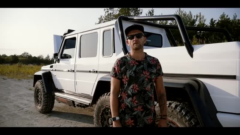 6x6 Mercedes-Benz G63 AMG Brabus G700 W463 movie clip_ Видео обзор