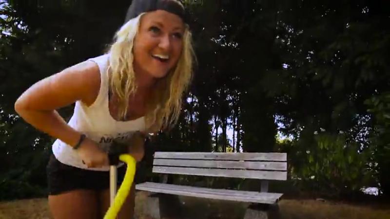 Urban Kayaking with Torch Paddles
