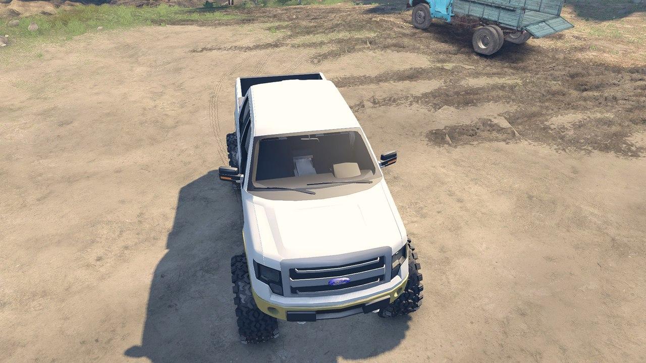 Ford F150 1.1 для Spintires - Скриншот 1