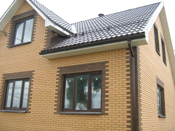 Строительство домов и коттеджей из кирпича 12