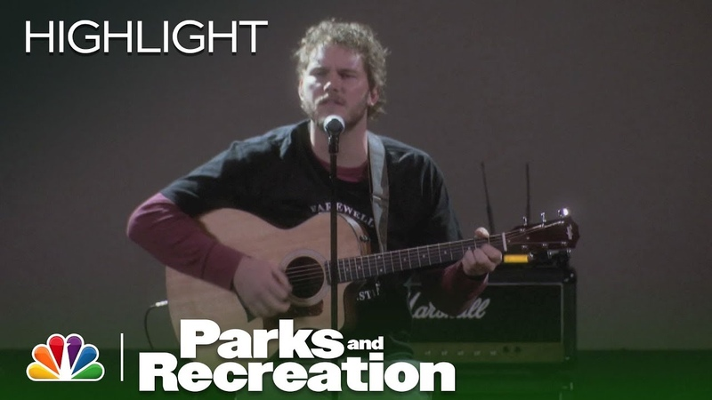 Parks and Recreation Andy's Musical Tribute to Li'l Sebastian