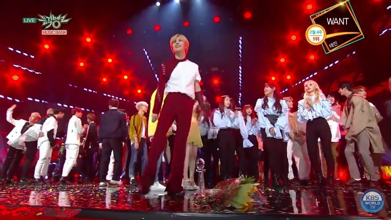 [MUSIC BANK 19.02.22] 2 월 4 주 1위 : 태민 (TAEMIN) 'WANT' No.1 - Encore Stage
