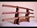 Как сделать деревянный боккен своими руками