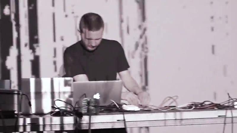 Shaun Baron Carvais live @ Gamma Festival visuals by Grigory Gromov 21 07 2018