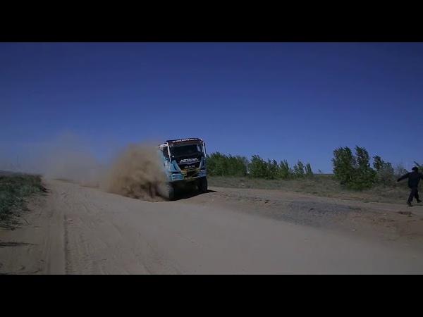 То самое видео с Грузовиком Astana Motorsports MAN