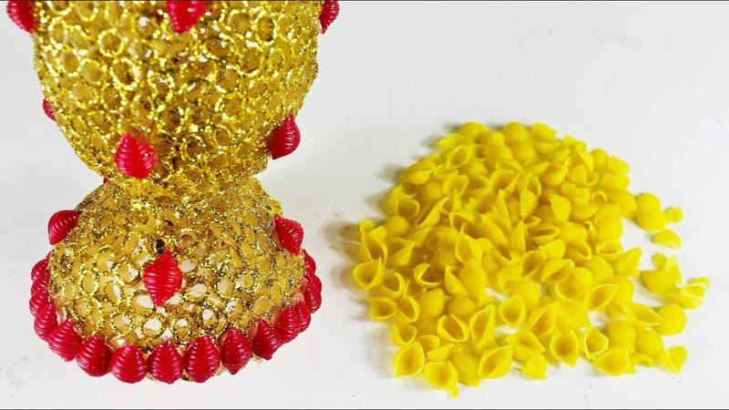 পাস্তা দিয়ে ইউনিক আইডিয়া | Diy Art And Craft With Pasta
