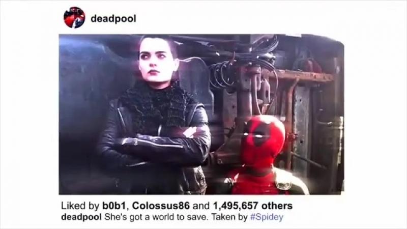 Deadpool x Spiderman | Vine | Дэдпул x Человек паук