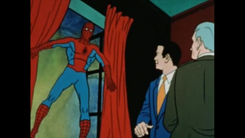 Настоящий Человек-паук 3 сезон 5 серия (1967 – 1970)