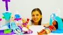 ToyClub шоу - Куклы Рапунцель, Эльза и Моана на вечеринке