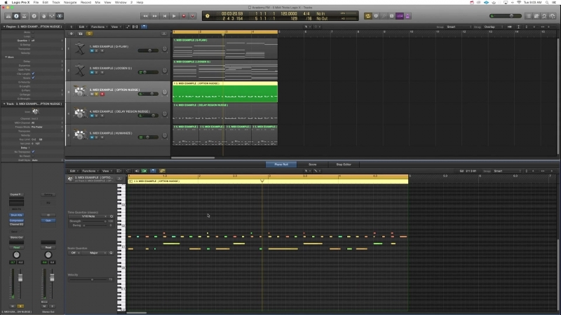 Academy.fm - 5 Logic Pro X MIDI Tools For Better Songwriting