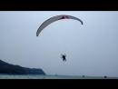 Взлет на параплане на острове Ко- Лан