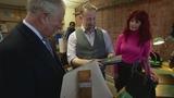 Prince Charles gets handbag for Camilla in Liverpool