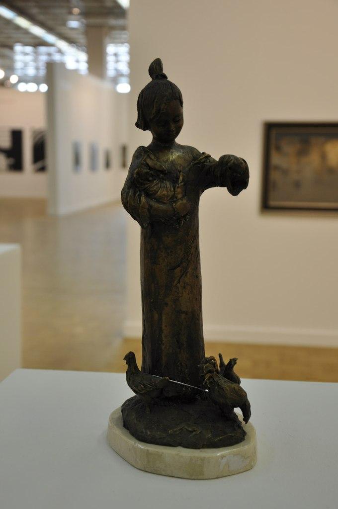 Союз художников Армении  Арпине Кетцян (р. 1978)  Детство. 2011  Бронза