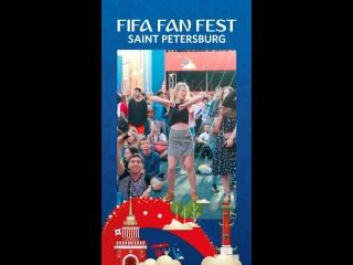 FIFA Fan Fest: танцуй, как она!