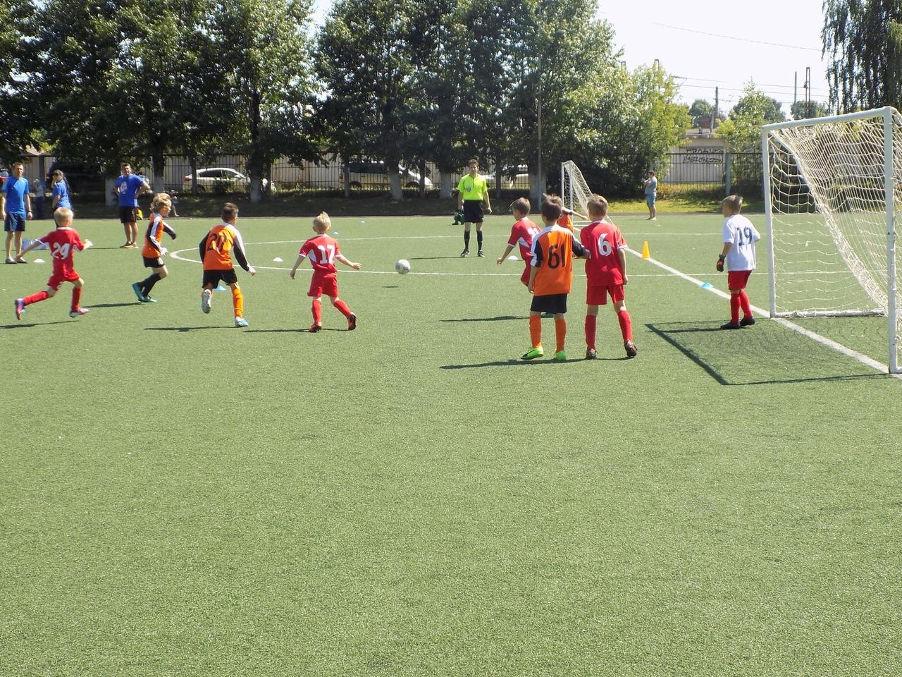 Результаты игр Первенства Городского округа Подольск по футболу среди детских команд 2009/2010 г.р.