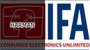 IFA 2018. Стенд HARMAN (JBL, AKG)
