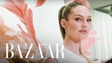 Candice Swanepoel's 2018 Victoria's Secret Fashion Show Fitting | Harper's BAZAAR