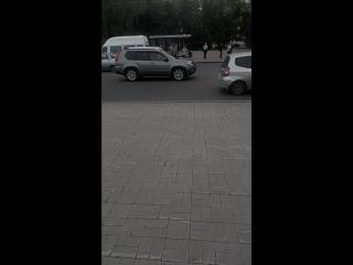 Одиночный пикет активиста НОД по отмене ст.15.4 конституции России.
