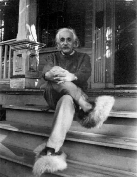Домашний Эйнштейн. Редкие необычные фото Альберта Эйнштейна.