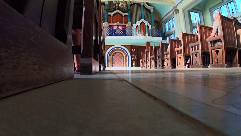 Фрагмент концерта в органном зале «Ливадия»