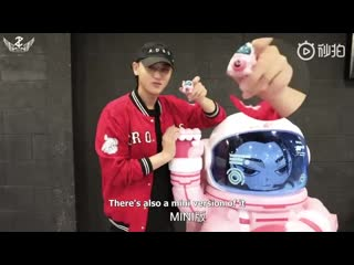 [video] 190614 z.tao introducing about z.tao's man toy aka the lucky astronaut | eng sub
