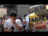 В Нью-Йорке на Таймс-сквер прилетел рой пчел