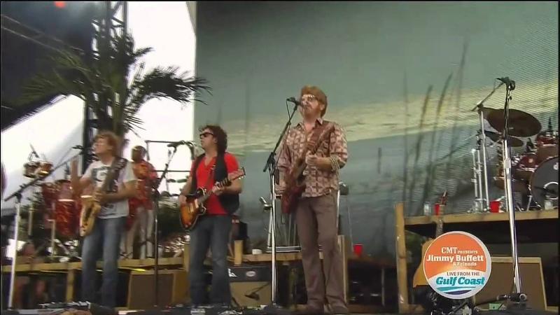 Jimmy Buffett - Gulf Shores Benefit Concert - Cheeseburger in Paradise - 13