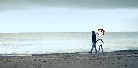 Я с Димкой гуляю по набережной :)