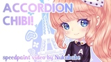 Accordion Girl   Full Process from Scratch!   Speedpaint by Nukababe [Patreon Learning Pack #26]